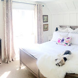 Ashley Minnings Designs Renewed a Chic Bedroom in the Toronto Area