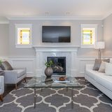 Friendly Decorator Renovated a Classic Living Room in the Bright Vancouver Area