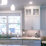 Garinger Construction Services Finished a Polished Kitchen in Northern Seattle