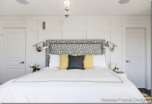 After bedroom & panel moulding - Decor Happy