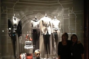Architectural details in Ralph Lauren store window - Andrew Pike's Twitter