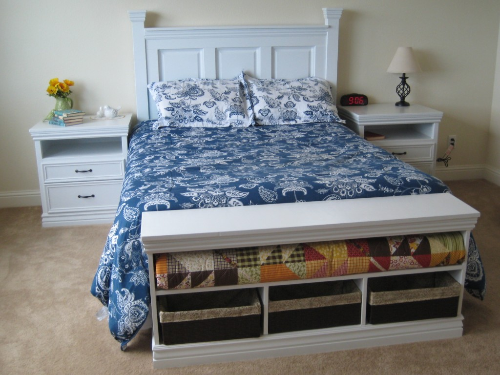 DIY Nightstand with moulding - Ana White 2