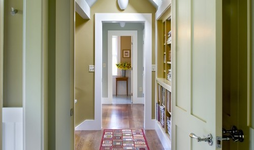 Modernize a traditional home with trim