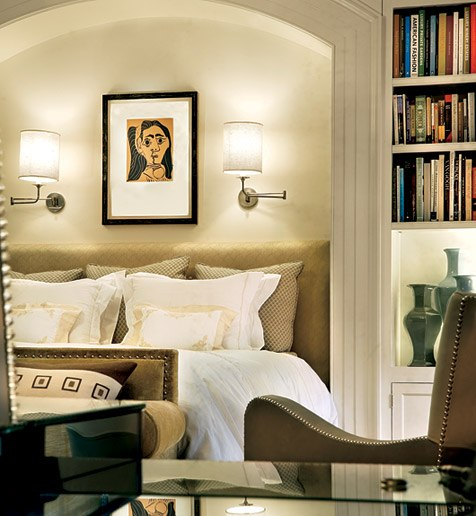 Trimwork in house in Hamptons - Architectural Digest 3