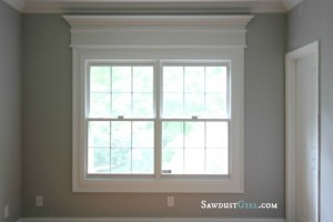 Window before trim - Sawdust Girl
