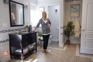 Anna Olson Bathroom transformation