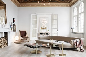 Ceiling treatment - Residence Magazine Sophie Burke