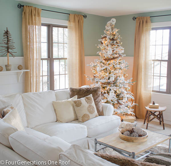 Christmas home tour 2013 - Four Generations One Roof