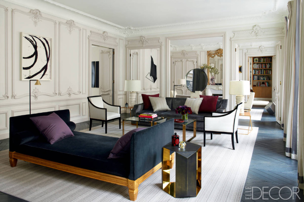 Favorite elle decor spaces of 2013 for Interieur chic parisien