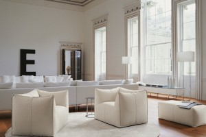 Contemporary furniture in a traditional space - Fancy & Campbell Watson Sophie Burke