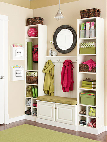 Mudroom with baseboard and wainscot - Betters Homes and Gardens 1