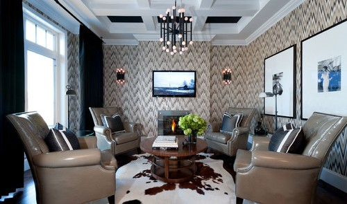 Painting ceilings blacks with white trim