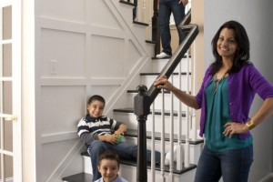 Staircase reno with trim - Better Homes & Gardens