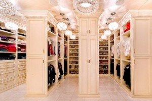 Closet with moulding Amanda Forrest