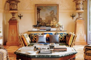 Versace's Milan Home - ELLE Decor