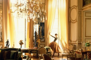 A salon in Hubert de Givenchy's Paris residence - Veranda