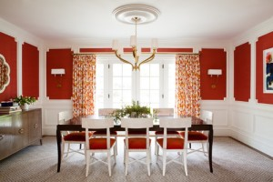 Dining Room - Canada Day - Red & White