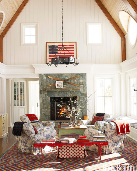 Red White & Blue - House Beautiful 2