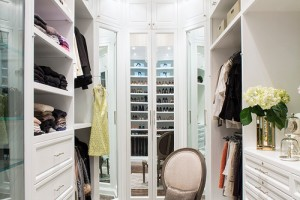 Closet Upgrades add Moulding to your wardrobe