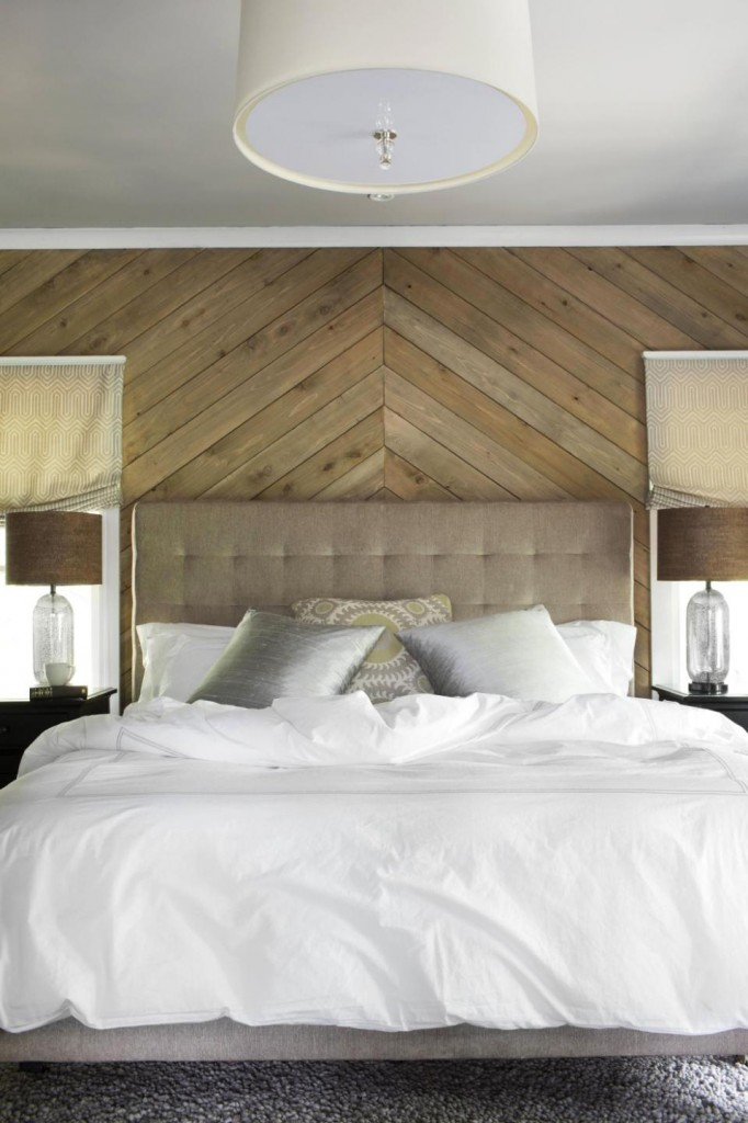 Make a bedroom more beautiful with wood