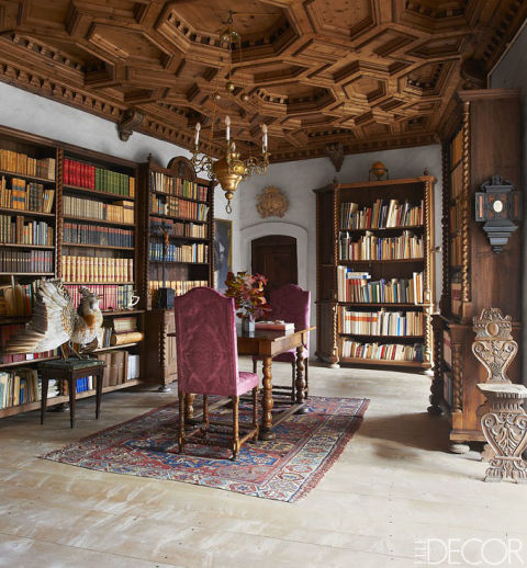House Tour Inside A Beautifully Maintained Historic Castle – ELLE DECOR