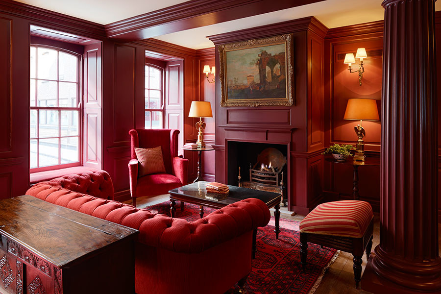 Tour Batty Langley's Hotel in London via Architectural Digest