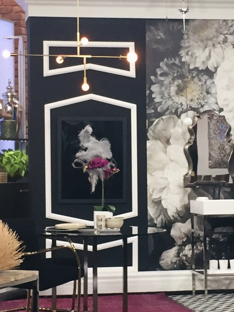 Aly Velji shows The Marilyn Denis Show how to use Metrie moulding to add architectural interest to a space.