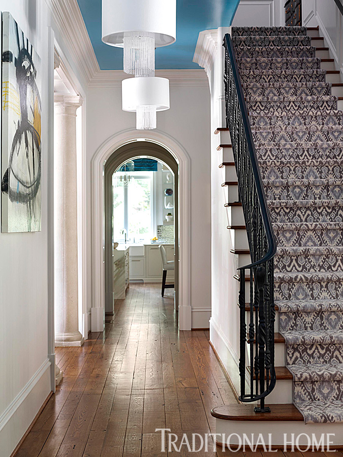 ... shines throughout this vibrant Atlanta home. Source: Traditional Home