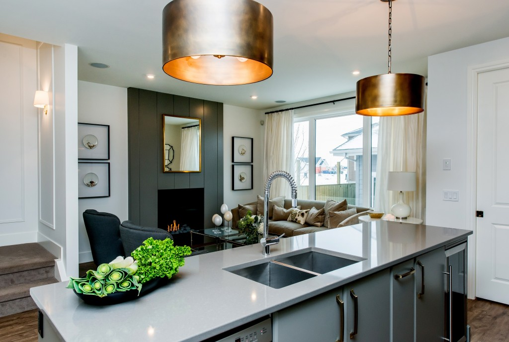 Krista Martens talks interior finishings and design on The Finished Space. Space designed by Beyond Measure Design & Maison Fine Homes & Interior Design. Photography: D & M Images.