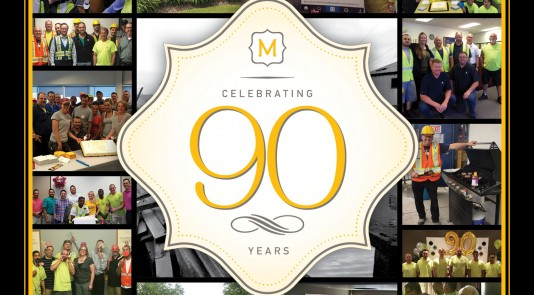 Metrie is celebrating its 90th Anniversary of being a leader in providing interior finishing products, such as moulding and doors, and we'd like to thank our loyal customers and partners for helping us to achieve this milestone.