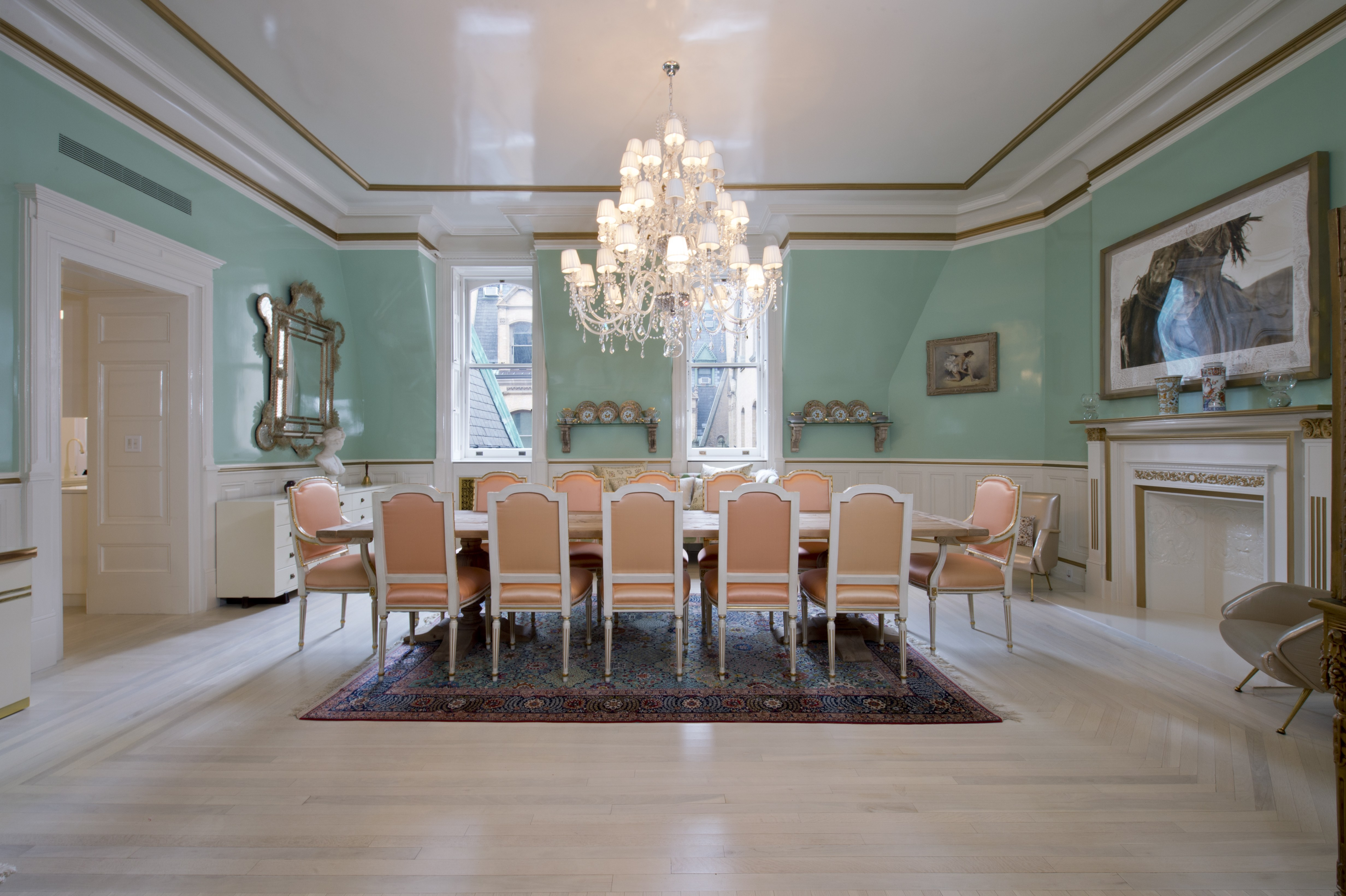 Judy Garlands former New York apartment boasts opulent interior finishings throughout. Source: Architectural Digest