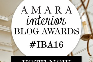 Vote for The Finished Space to help us move on to the shortlist. Amara Interior Blog Awards. Best International Interiors Blog.