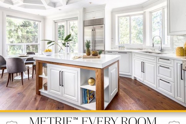 House of Bohn uses Metrie Fashion Forward trim elements to create a stunning ceiling design My Metrie Story.