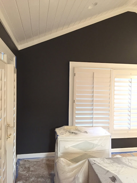 Designer Sherry Hart's One Room Challenge week four progress update. Image Source: Design Indulgence.