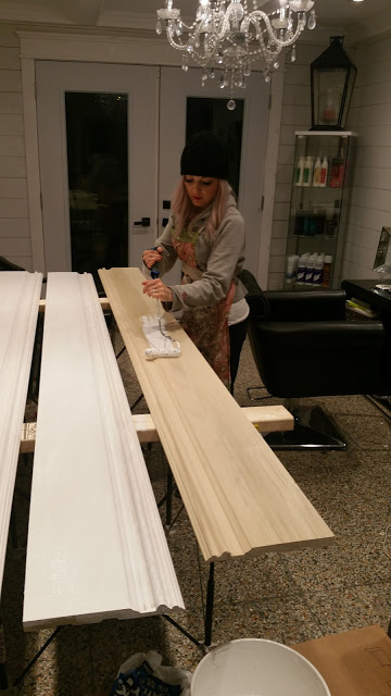 Bethany's One Room Challenge week five progress update. Image Source: This Little Estate.