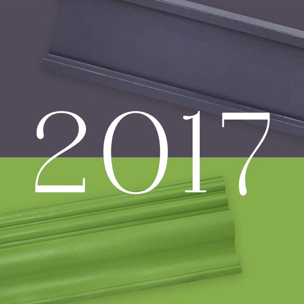 Interior finishings meet Pantone's and Benjamin Moore's Colors of the Year.