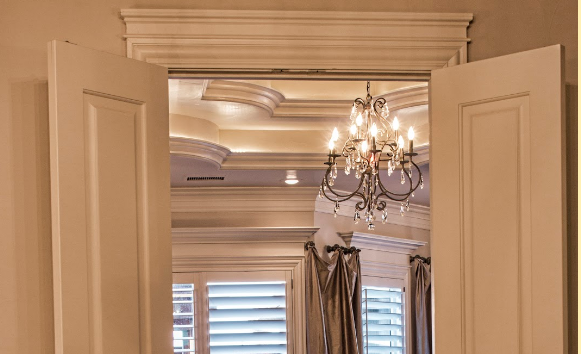We love this use of door architrave from S.C.O.R.E. Builders