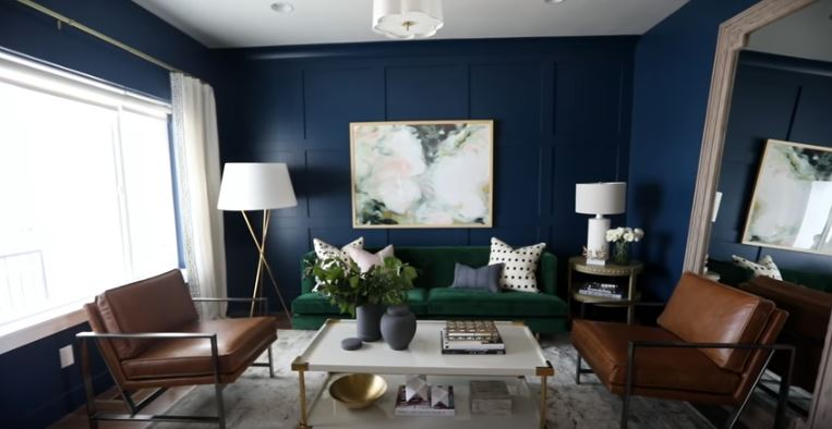 Living Room Glamour With Studio Mcgee