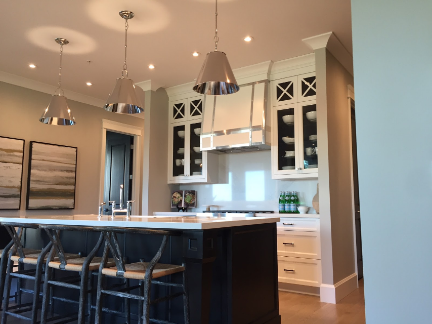 We love this example of architrave trim in Valentino Homes and Developments kitchen.