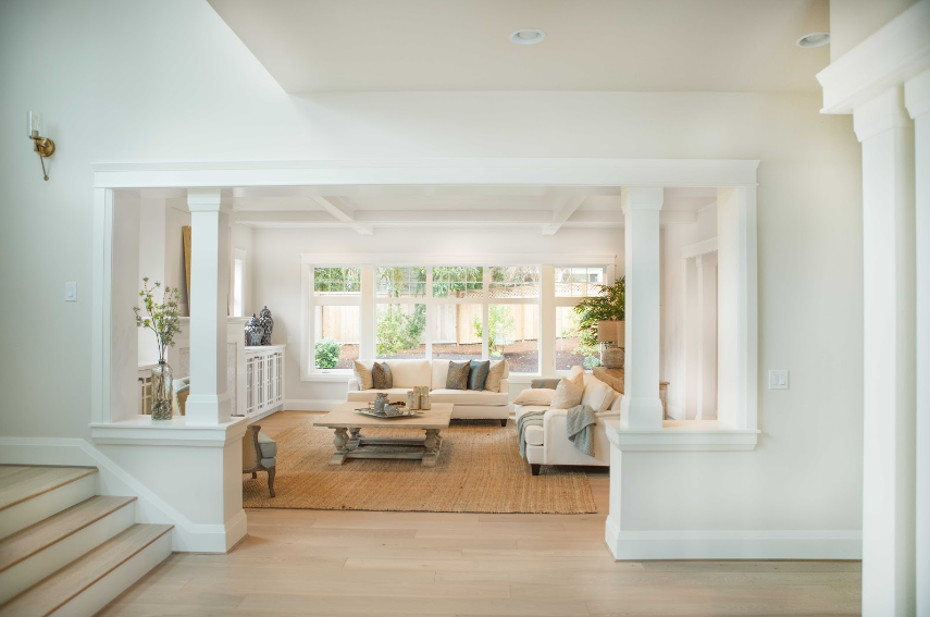 We love this interior architrave look by Calista Interiors.