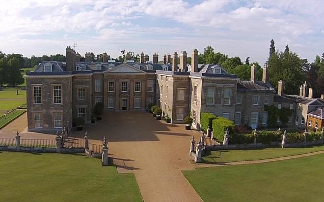 Althorp boasts stunning trimwork. Image source: Althorp. Photography: Stacey Osborne, Jake Eastham, Justin Creedy-Smith, Andrew Mackintosh, David Jones, Adey Greeno and Jan Bialek