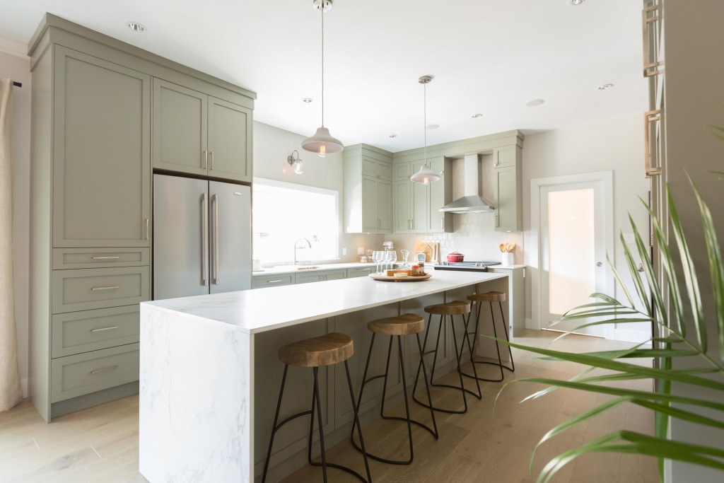 Jillian Harris creates a zenful open plan kitchen | Love It or List It Vancouver