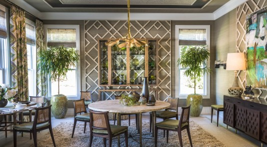 Metrie's Very Square Collection interior finishings make an appearance in Gideon Mendelson's design for the Hamptons Designer Showhouse. Design: Gideon Mendelson | Photography: Alan Barry
