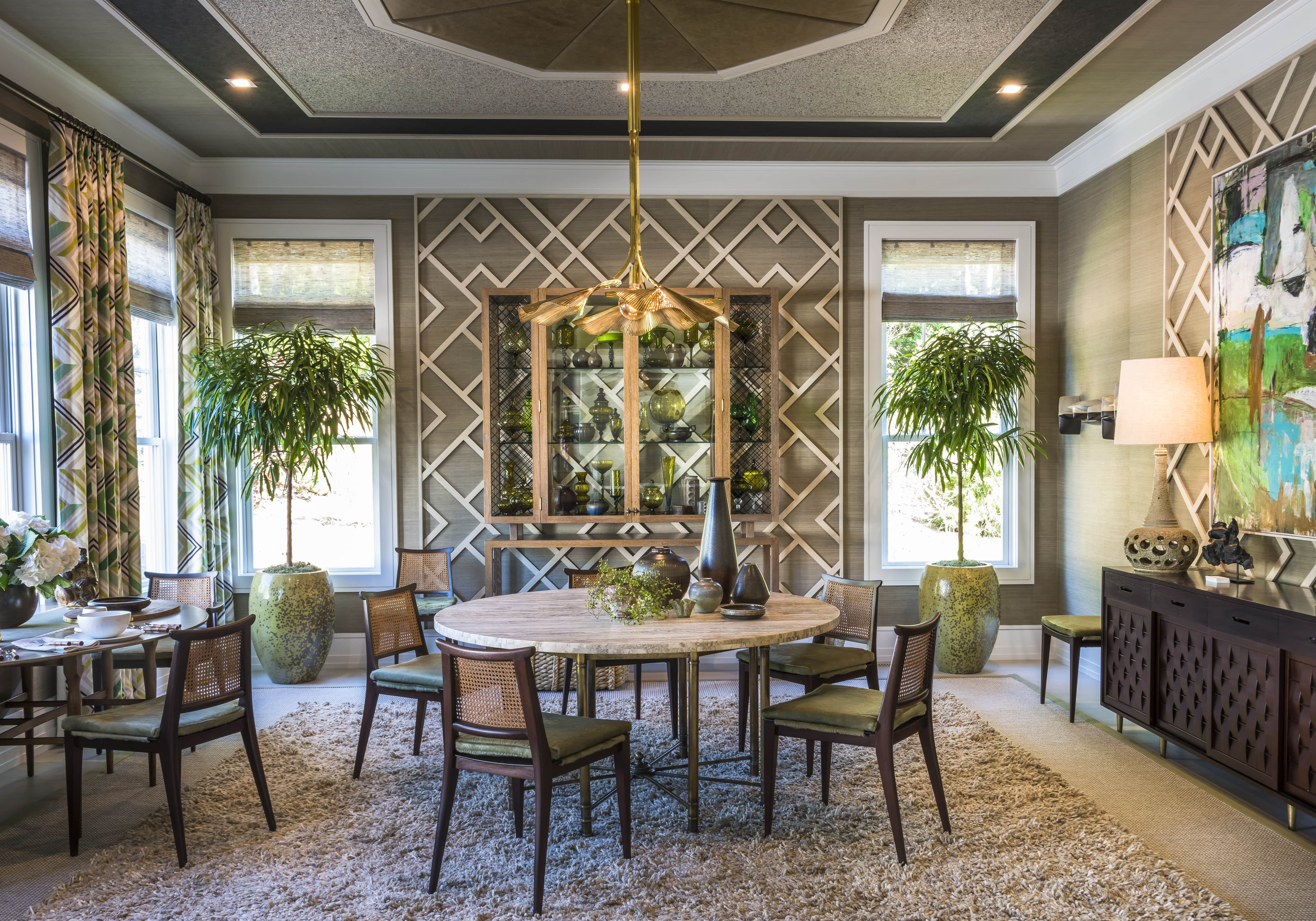 Metrie's Very Square Collection scene III interior finishings make an appearance in Gideon Mendelson's design for the Hamptons Designer Showhouse from Traditional Home's July/August issue.  Design: Gideon Mendelson | Photography: Alan Barry