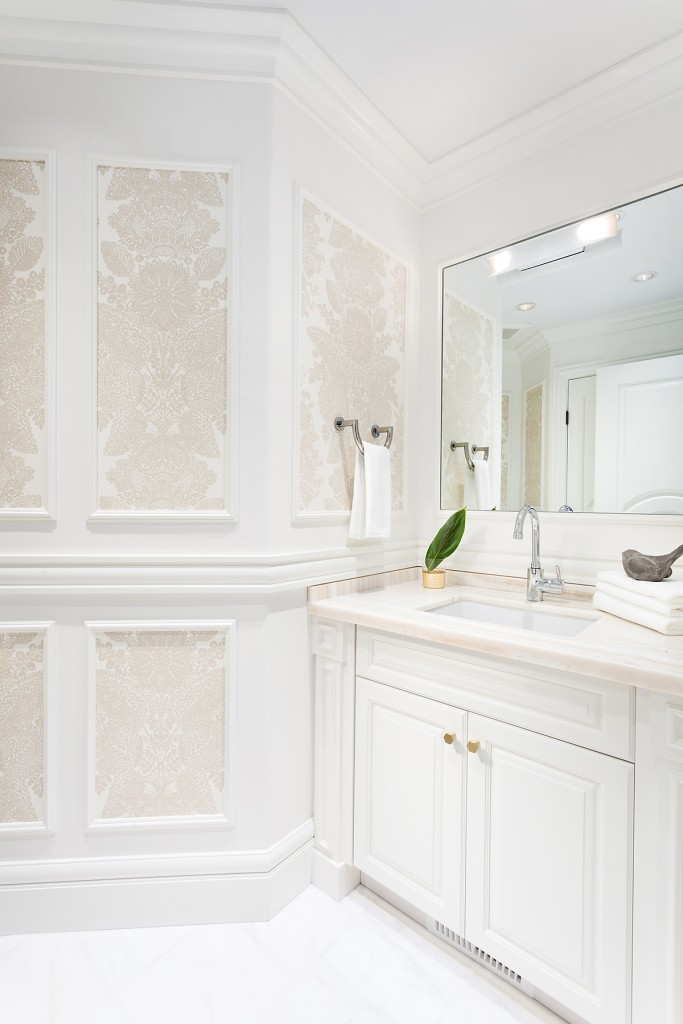 This opulent bathroom from House of Bohn has got to be the best spa retreat we've seen all summer.