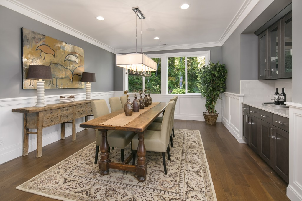 Rustic, yet refined, this home designed by Terrene Homes artfully uses our True Craft Collection.