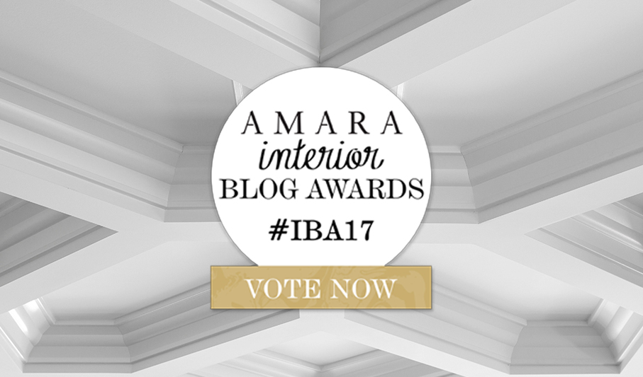 Metrie's blog, The Finished Space, has been nominated for Best Company Blog in the 2017 Amara Interior Blog Awards
