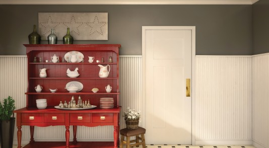 Metrie's Option {M}'s Country styled dining area.