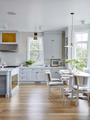 Another angle of celebrity designer Sarah Richardson's dream kitchen.