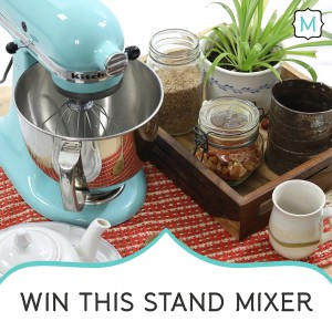 Win this stand-mixer by entering Metrie's My Dream Option {M} Pinterest Contest.